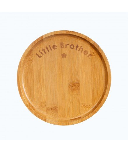 Petite assiette en bambou - Little Brother