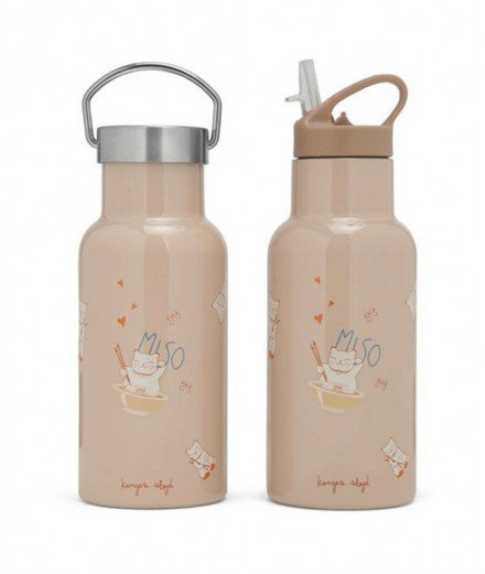 Gourde isotherme Miso moonlight- 2 bouchons