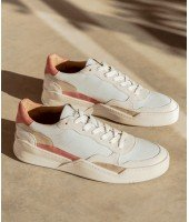 Sneakers Beverly - Vieux rose