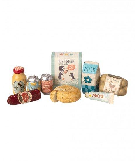 Boite épicerie pour maison de poupées - Maileg