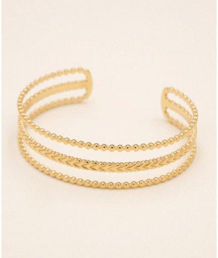 Bracelet jonc Aristide - Acier inoxydable