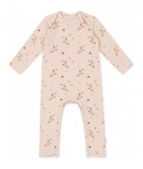 Combinaison bébé en coton bio - Nostalgie Blush