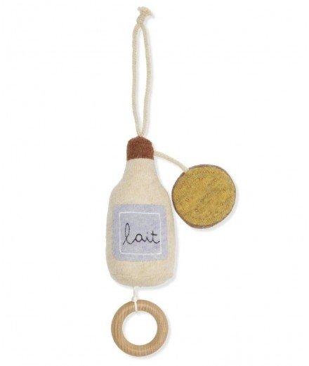 Mobile musical - bouteille de lait et cookie