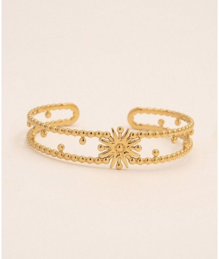 Bracelet jonc en acier inoxydable - Taiyo