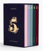 Coffret de 5 notebooks - Journal sur 5 ans