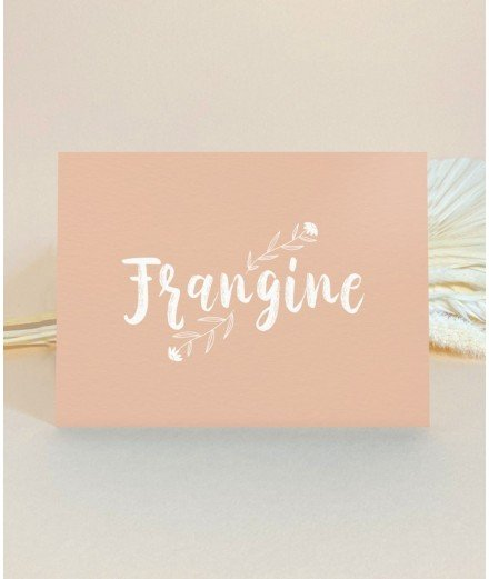 Carte postale - Frangine
