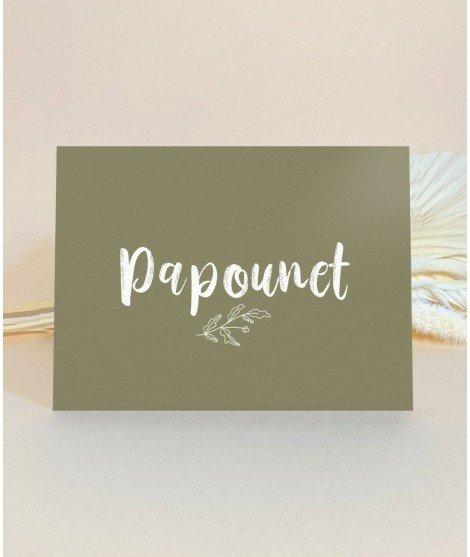 Carte postale - Papounet