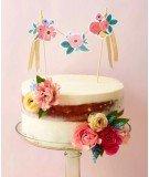 Topper pour gâteau - Garden Party