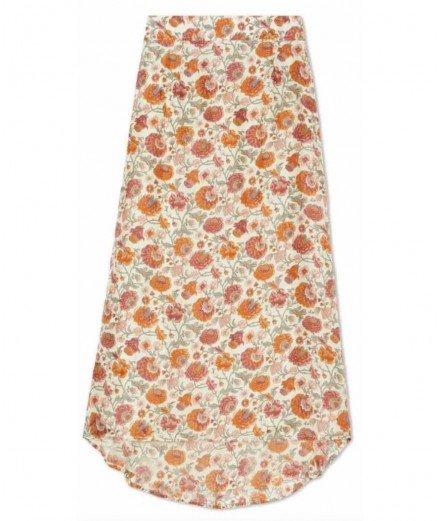 Jupe en soie Isabella - motif Bohemian Flower - louise misha - Merci Léonie