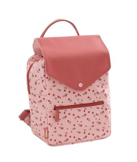Sac à dos pour enfant - Floral - eef lillemor - merci léonie - sac à dos bouteille recyclée - sac à dos évolutif