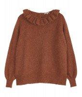 Pull en laine d'alpaga - Renard