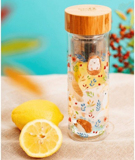 Bouteille infuseur - Forest Folk