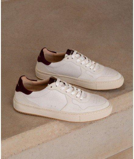 Sneakers Tampa - blanc cassé et bordeaux intense Bobbies