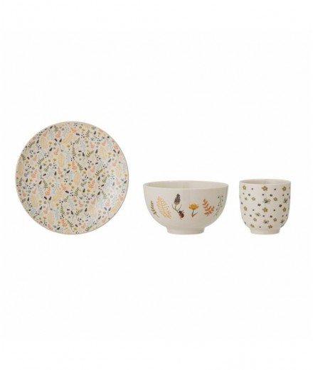 Coffret de vaisselle pour enfant en céramique - Harvest