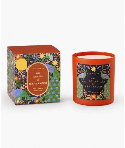 Bougie parfumée ambrée - Souks of Marrakesh