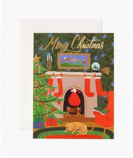 Carte de Noël - Merry Christmas Réveillon - rifle paper co - merci léonie
