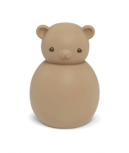 Veilleuse en silicone Teddy l'ourson réalisée par la marque scandinave Konges Slojd