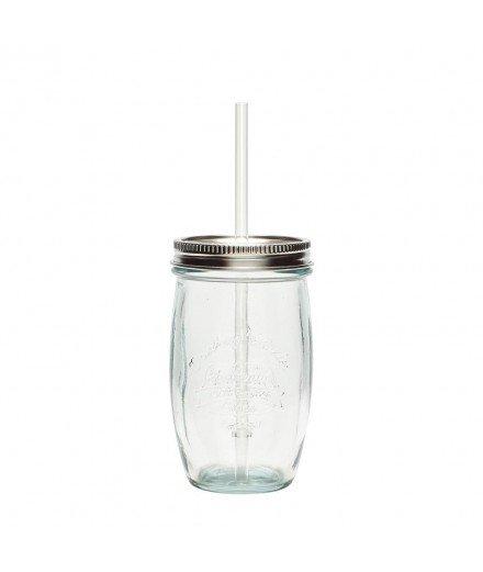Mason Jar en verre recyclé