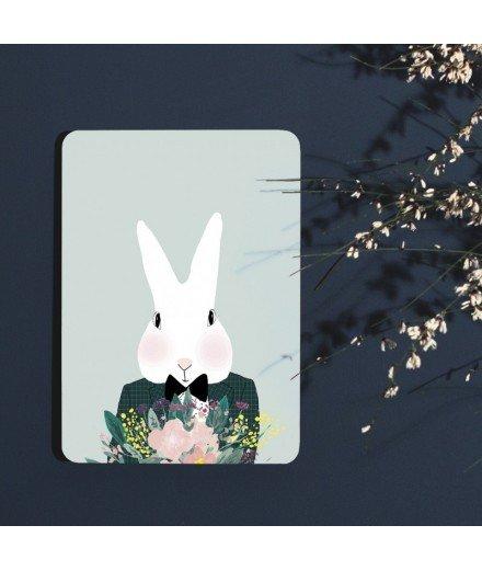 Carte postale Camille en fleurs