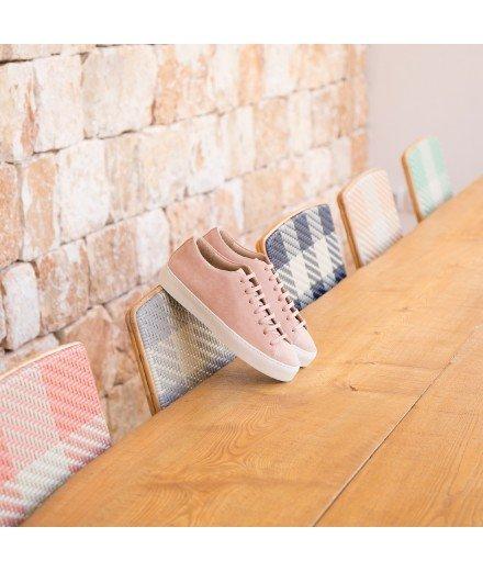 Sneakers La filoute - Sorbet à la rose