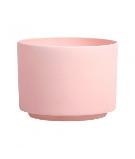 Photophore en porcelaine - rose