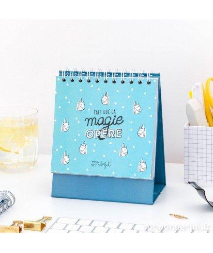 Organisateur hebdomadaire - Fais que la magie opère