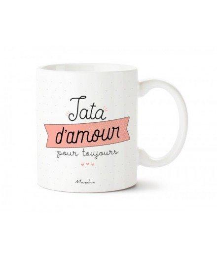 """Mug """"Tata d'amour pour toujours"""""""