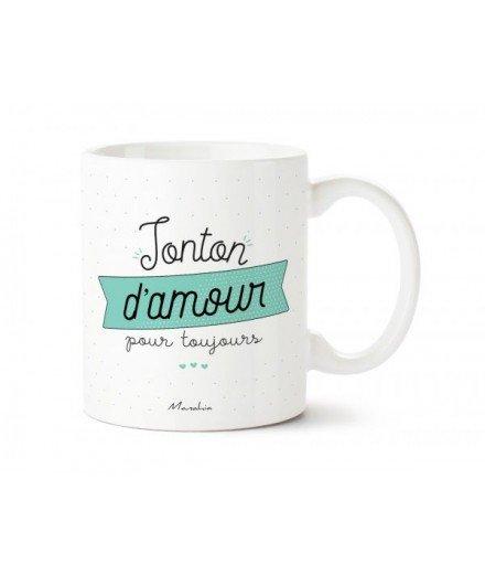 """Mug """"Tonton d'amour pour toujours"""""""