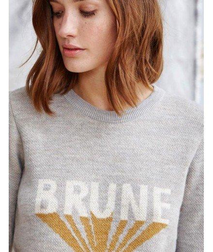 Pull Brune - Gris