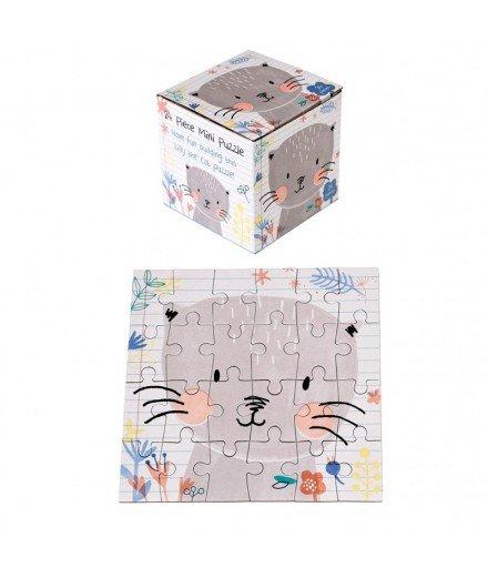 Mini puzzle Chat - 24 pièces