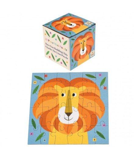 Mini puzzle Lion - 24 pièces