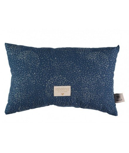 Coussin Laurel - Gold Bubble - Night blue