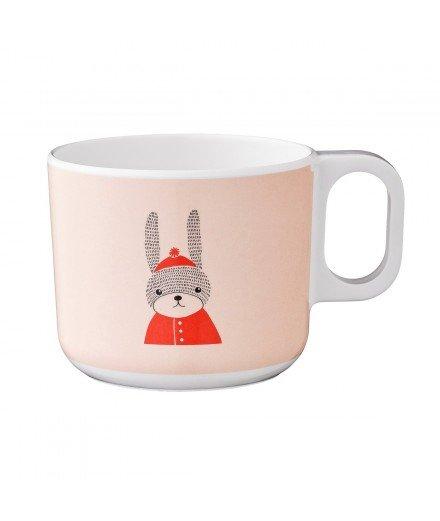 Mug pour enfant en mélamine - Lapin