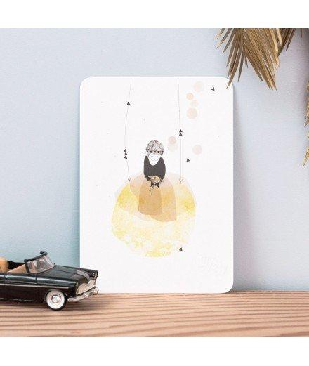 Carte postale Poésie