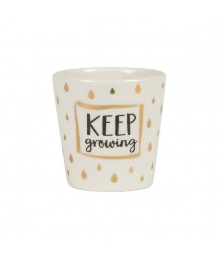 Cache pot Keep Growing - Petit format