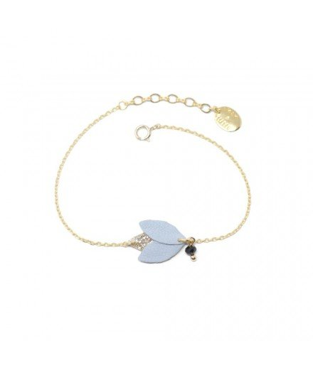 Bracelet Koura - Bleu Pastel