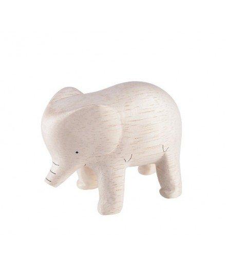 Eléphant en bois