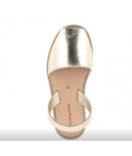 Sandales Avarca - Métal Oro