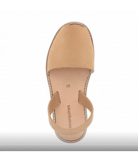 Sandale Avarca - Cuir Naturel