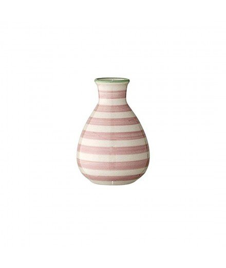 vase Patrizia - rayé rose