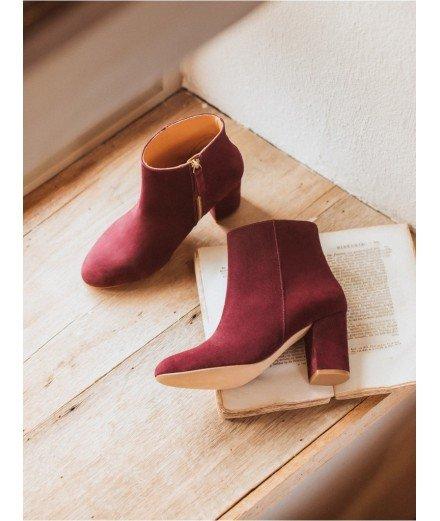 Boots La Divine - Bordeaux intense