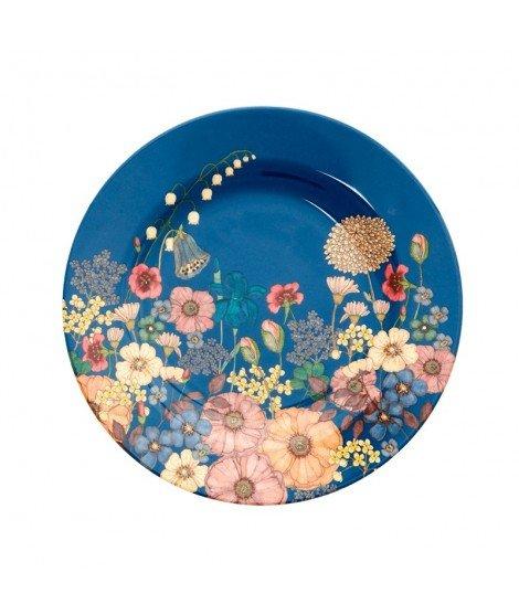 Assiette fleurs