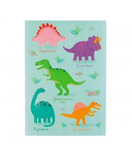 Bloc à dessins - Dinosaures