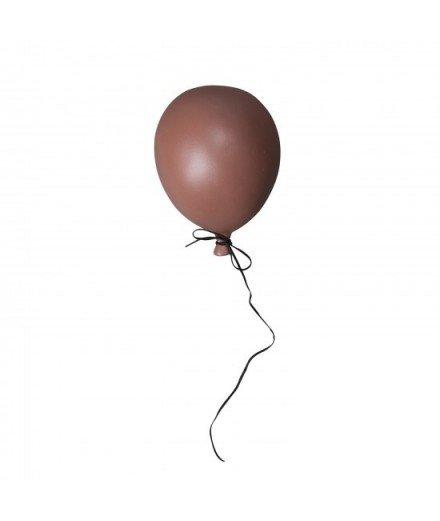 Ballon en céramique à suspendre - marsala mate