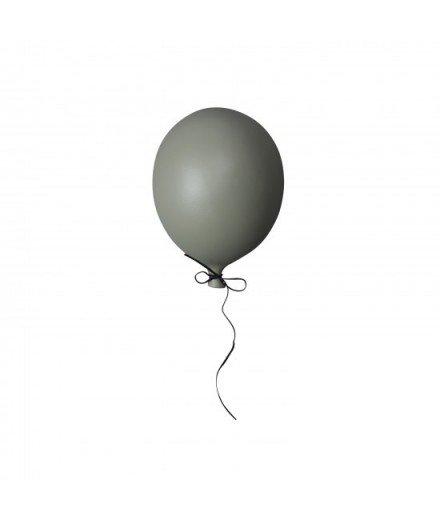 Ballon en céramique à suspendre - vert mate
