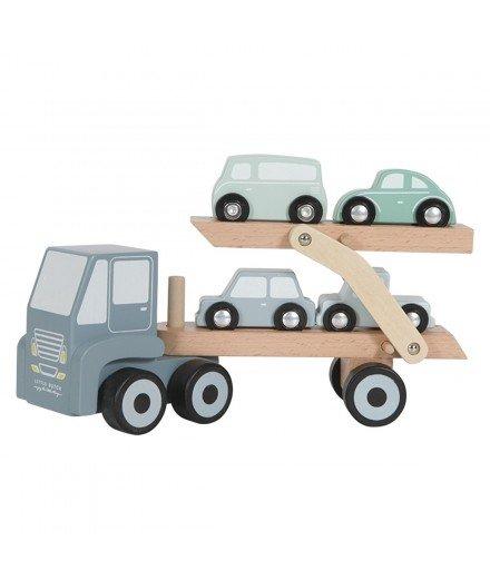 Camion transporteur en bois
