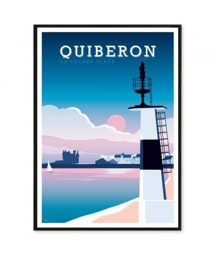 Affiche Quiberon