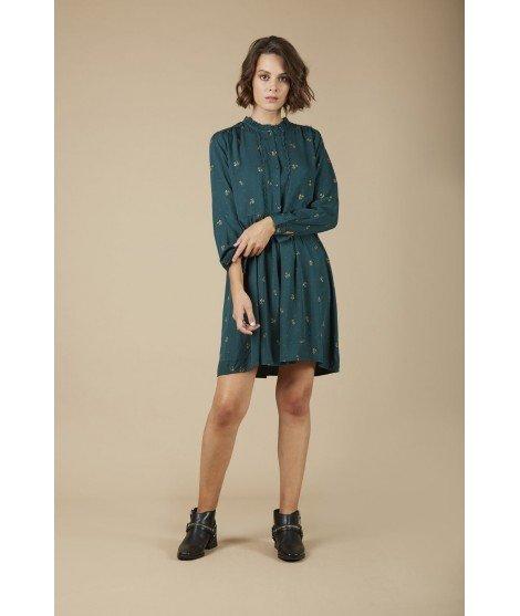 Robe Amandine - Vert