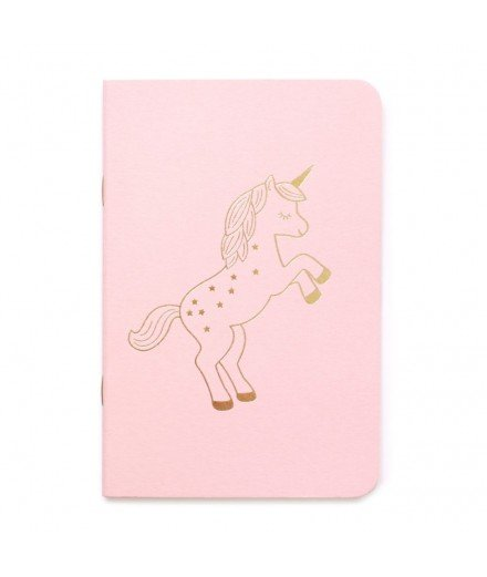 Petit carnet Licorne