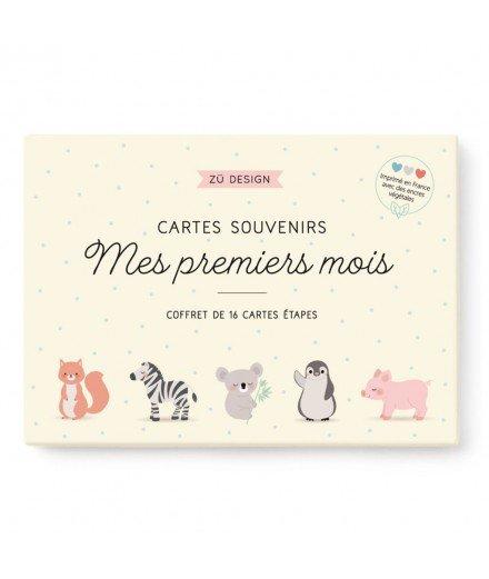 """Coffret cartes étapes """"Mes premiers mois"""""""